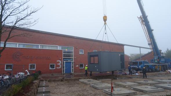 Noodlokalen Margrietschool in Woerden